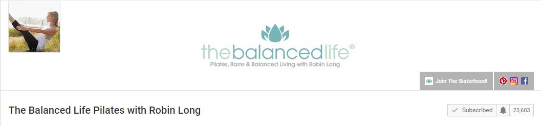 The Balanced Life- Pilates Body Challenge